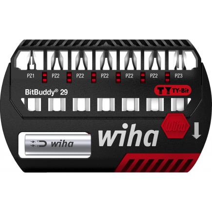 "WIHA BitBuddy® TY bit set 29 mm Pozidriv 1/4"" (9-pcs.) - 1"