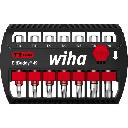 """WIHA BitBuddy® TY bit set 49 mm TORX® 1/4"""" (8-pcs.) - 1"""