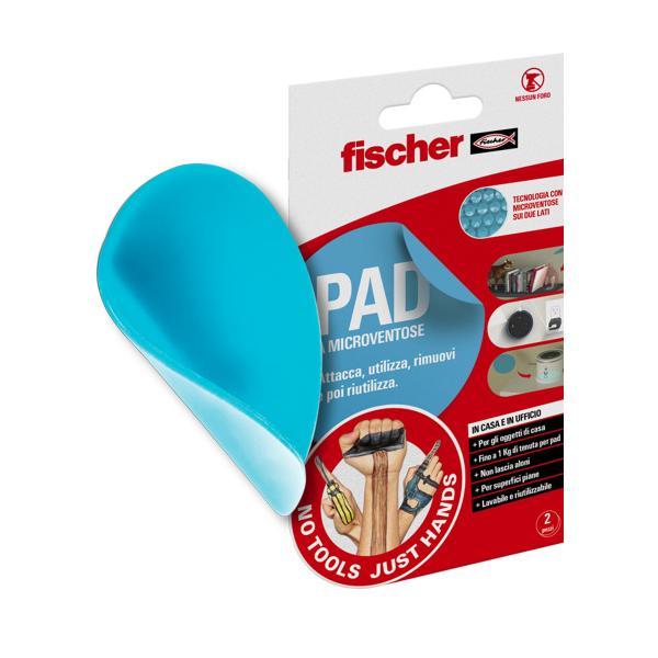 FISCHER Vakuum pad doublesided round NTJH - 1
