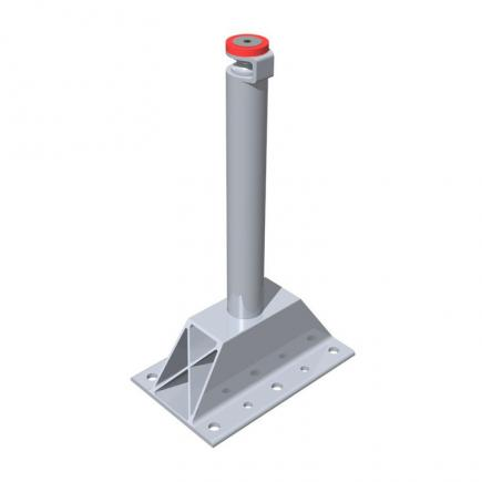 FISCHER Pole intermediate in aluminum PI BP - 1