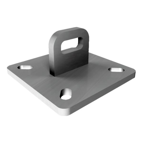 FISCHER End plate inox for wall or inclined lines SVE - 1