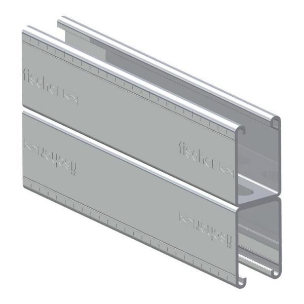 FISCHER Channel cold galvanized steel FUS D - 1