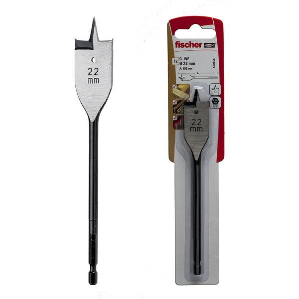 FISCHER Wood flat drill in blister PLP K - 1