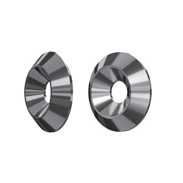 FISCHER White galvanized washer for flat countersunk head for wooden constructions FWC-CS ZP - 1