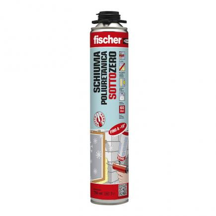 FISCHER Polyurethane subzero foam for gun PUP SZ + PLUS - 1