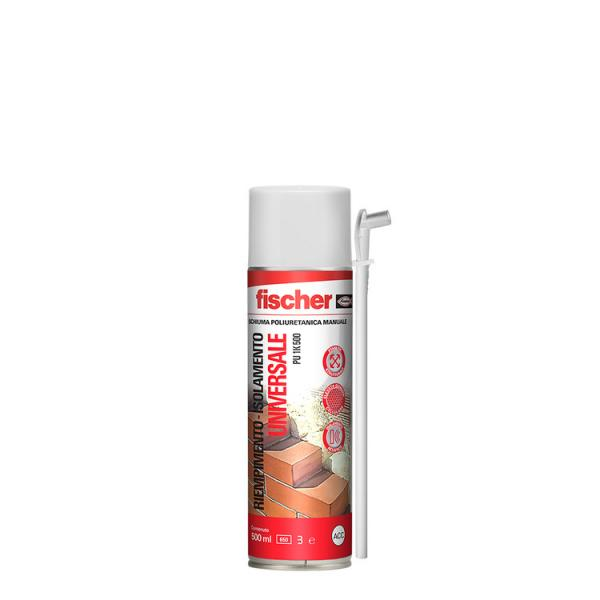 FISCHER Universal polyurethane foam manual PU 1K - 1
