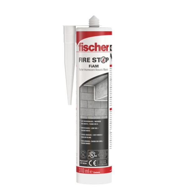FISCHER Intumescent acrylic fire protection sealant FiAM 310 - 1
