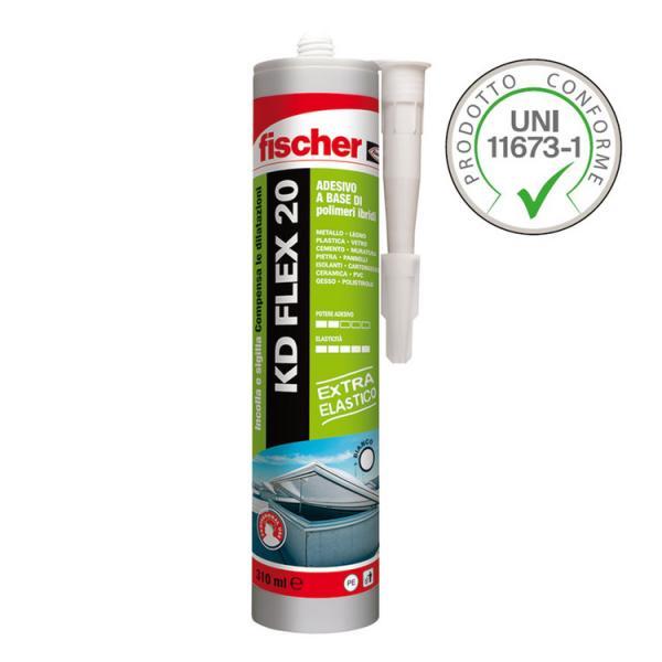 FISCHER Adhesive sealant KD FLEX 20 - 1