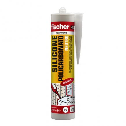 FISCHER Neutral silicone for polycarbonate and plastic materials SNP 310 TR - 1
