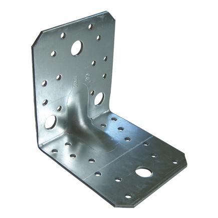 FISCHER Ribbed heavy angle hot-dip galvanized bracket XAEB - 1