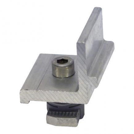 FISCHER Side locking bracket for 90° connection between Solar profiles PXC AL - 1