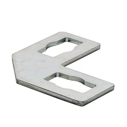 FISCHER Quick coupling flat bracket PFFF 2L - 1