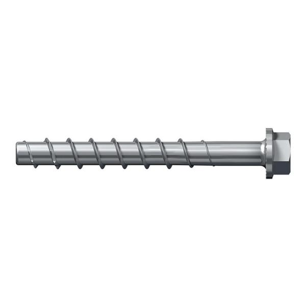 FISCHER Adjustable galvanized steel concrete screw with hexagonal head and Torx and integrated washer UltraCut FBS II US TX - 1