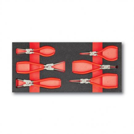 USAG Assortment with straight and bent nose pliers (6 pcs.) - 1