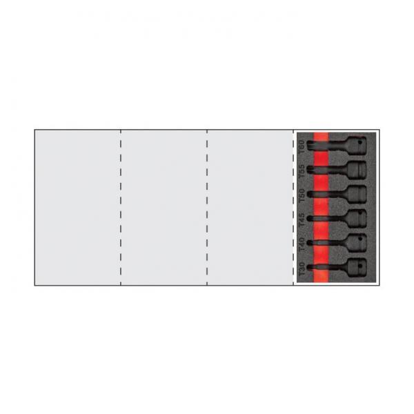 "USAG Assortment with 1/2 "" TORX® impact sockets (6 pcs.) - 1"