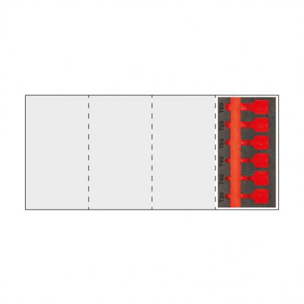 USAG Bi colour foam modulo (empty) for module 519 M 233MNTXC6 - 1