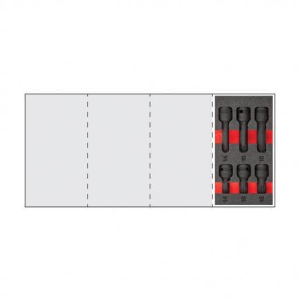 "USAG Assortment with impact socket XZN 1/2 ""(6 pcs.) - 1"