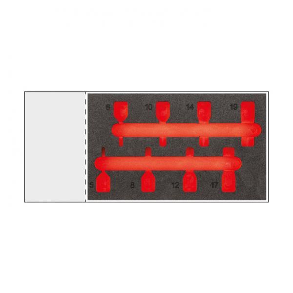 USAG Bi colour foam modulo (empty) for module 519 M 234MNC8 - 1