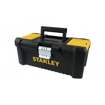 """STANLEY 19"""" Essential Toolbox Withe Metal Hinges - 1"""