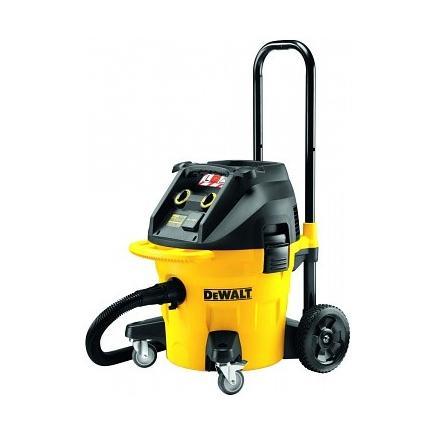 Dewalt Dust Extractor >> Dewalt Dwv902l Qs 38lt Construction Dust Extractor L Class 1400w