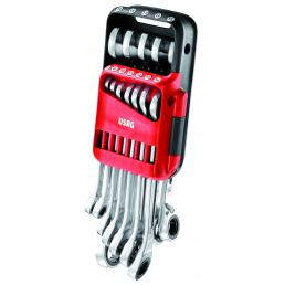 USAG Set of 12 reversible ratchet combination wrenches - 1