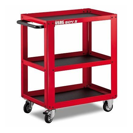 USAG MULTI-PURPOSE ROLLER CABINET WITH 3 SHELVES - 1