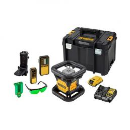 DeWALT Rotary laser with high-visibility green beam and recheargable battery 18V. - 1
