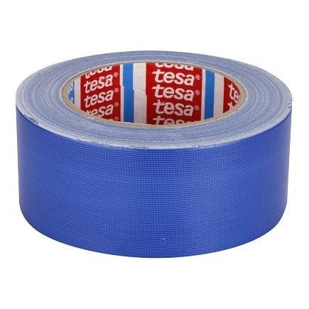 TESA Set of 5 Standard polyethylene coated cloth tape - Blue - 1