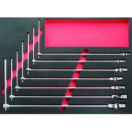 USAG 519 M 276 Bi-colour foam module with assortment (7 pcs.) | Mister Worker®