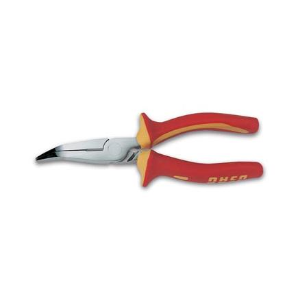 USAG Flat extra-long nose pliers with jaws bent to 45° - 1