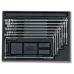 USAG 519/276 T-handle wrenches with jointed hexagonal socket Assortment (8 pcs.) | Mister Worker®