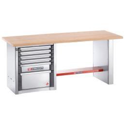 FACOM Heavy-duty workbench 2 m - 6 drawers - 1