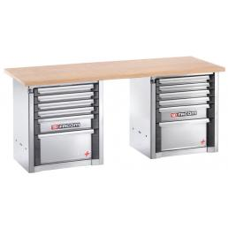 FACOM Heavy-duty workbench 2 m - 12 drawers - 1