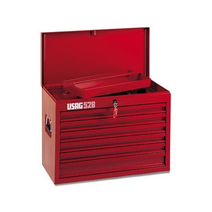 USAG Drawer chest with tool assortment 496 E3 for industrial maintenance (165 pcs.) - 1