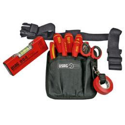 USAG 630 EA Belt-bag with assortment for electricians (9 pcs.) | Mister Worker®