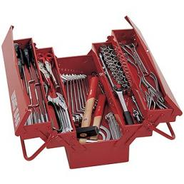 USAG Cantilever tool boxes 646/5V with basic assortment 496 AP2 (66 pcs.) - 1