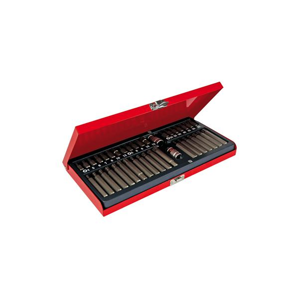 USAG Assortment with Ribe bits with hole - XZN - TORX® Tamper Resistant® (40 pcs.) - 1