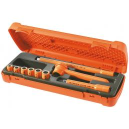 FACOM Set of 9 VSE series 1,000 Volt insulated tools - 1