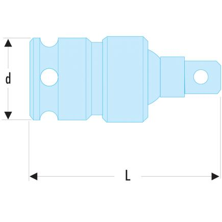 """FACOM 1/2"""" drive impact universal joint - 2"""