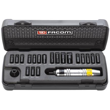 FACOM Set of 21 impact screwdrivers - 1