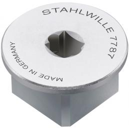 """STAHLWILLE Square drive adaptor inside 1/4"""" outside 3/4"""" - 1"""