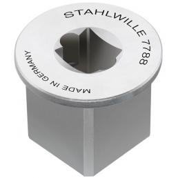 """STAHLWILLE Square drive adaptor inside 3/8"""" outside 3/4"""" - 1"""
