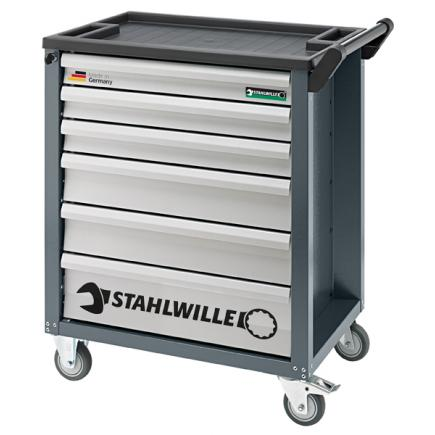 STAHLWILLE Tool trolley 6 drawers empty - 1