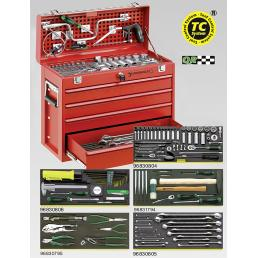 STAHLWILLE Line maintenance set in tool box N. 13216/4 - 1
