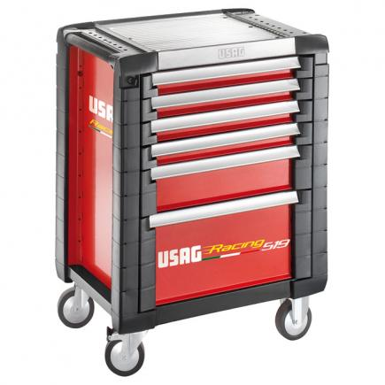 USAG Racing roller cabinet - 6 drawers (empty) - 1