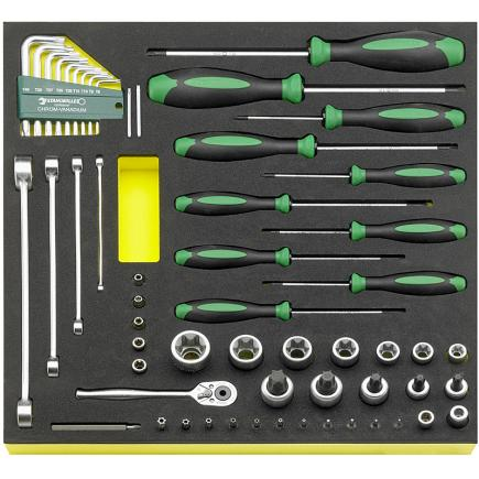 STAHLWILLE TORX tools in TCS inlay - 1
