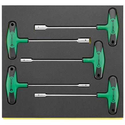 STAHLWILLE T handled screwdrivers in TCS inlay - 1
