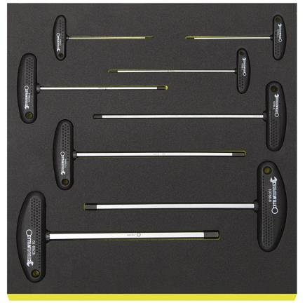 STAHLWILLE Offset screwdrivers in TCS inlay - 1