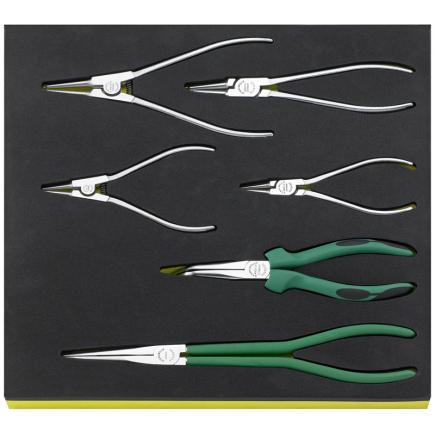 STAHLWILLE TCS 6534–6545/6 Set of pliers in TCS inlay - 1