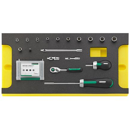 STAHLWILLE TCS WT 40/4008/10/9 Tools in TCS inlay - 1
